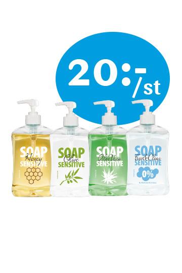 Soap Sensitive 20.-/st